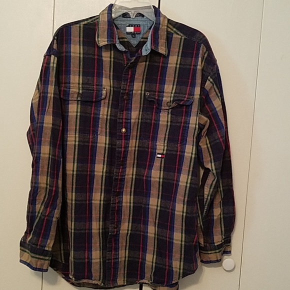 5a278648 Tommy Hilfiger Shirts | Nwot Plaid Flannel Shirt | Poshmark
